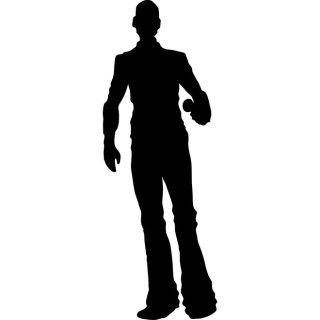 Man with Mic Free Vector