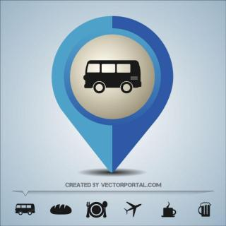Map Pin Symbol Free Vector