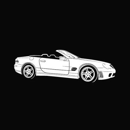 Mercedes Benz Car Free Vector