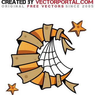 Moon Clip Art Illustration Free Vector