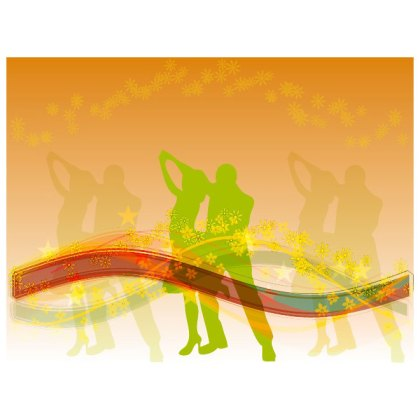Music Dance Theme Stock Image Free Vector