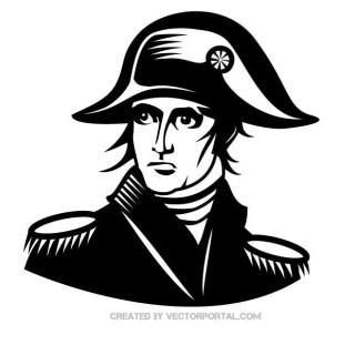 Napoleon Portrait Free Vector