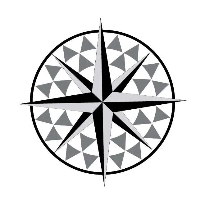nautical star free art free vector 123freevectors rh 123freevectors com nautical star compass vector