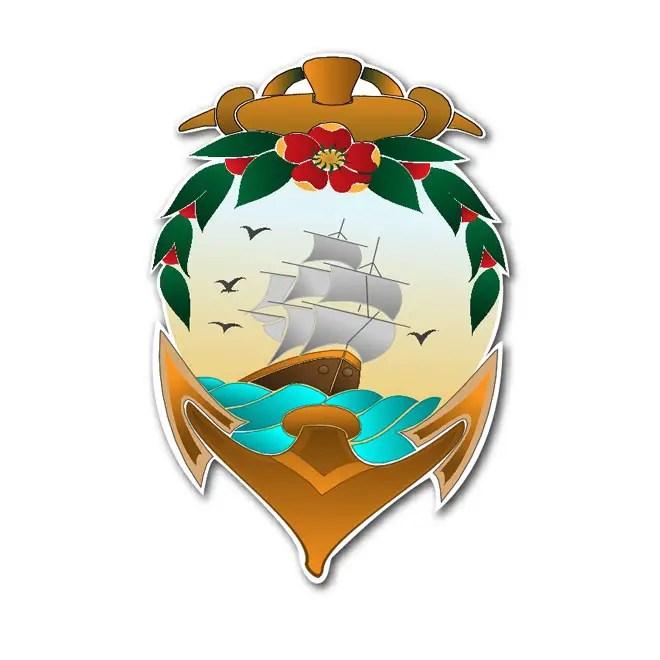 Navy Anchor Free Vector