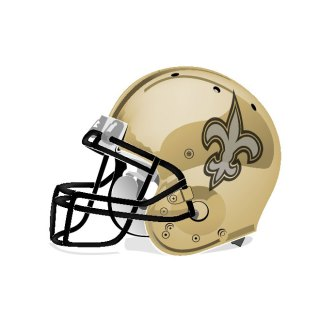 New Orleans Saints Helmet Free Vector