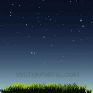 Night Sky Graphics Free Vector