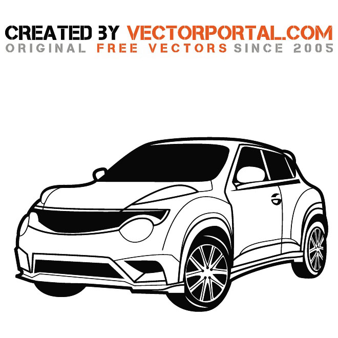 Nissan Juke Yellow Car 4k Wallpaper: Download Free Vector Art