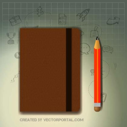 Notebook Graphics Free Vector