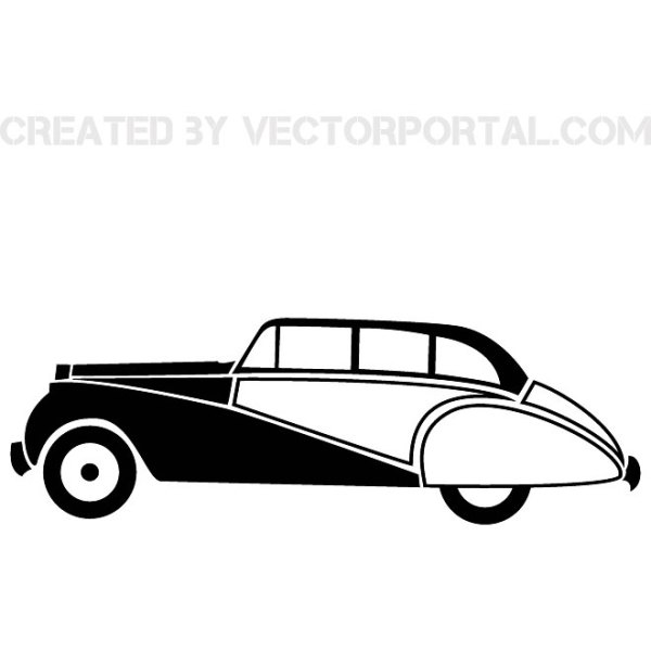 Old-Timer Graphics Free Vector