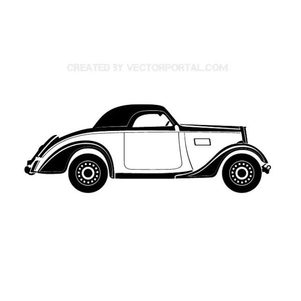Oldtimer Car Free Vector