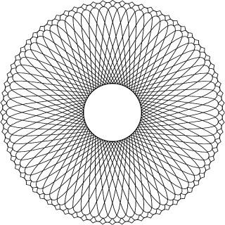 Optical Rosette Graphics Free Vector