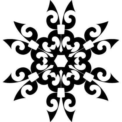 Ornaments 2 Free Vector