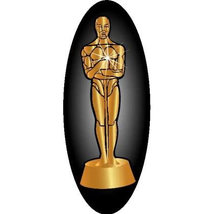 Oscar Statue Image Free Vector