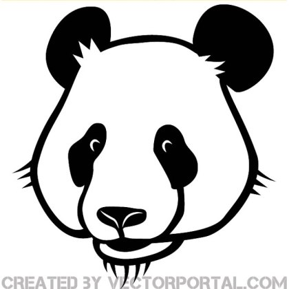 Panda Image Free Vector