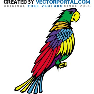 Parrot Graphics Free Vector