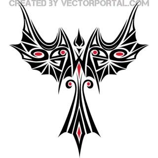 Phoenix Clipart Free Vector