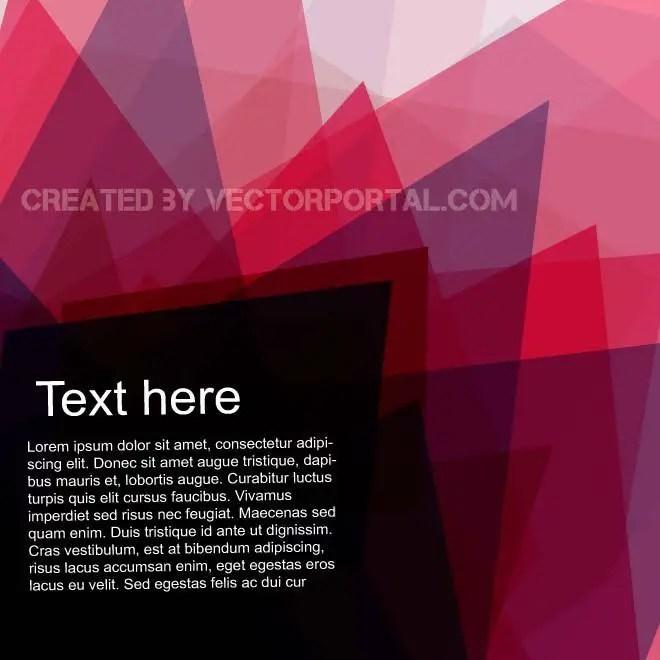 Pink Background Illustration Free Vector