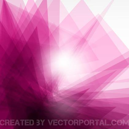 Pink Background with Glaring Light Free Vector