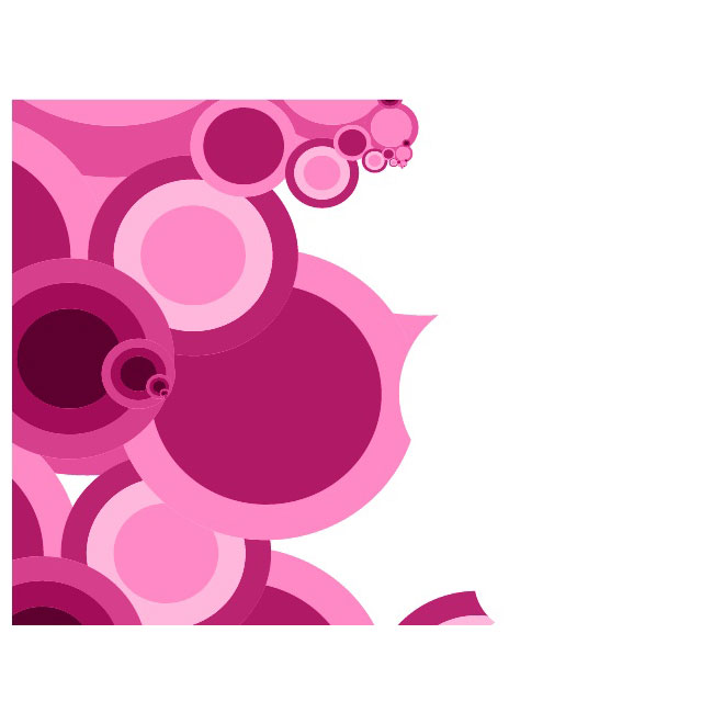 Pink Retro Background Free Vector