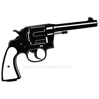 Pistol Free Vector