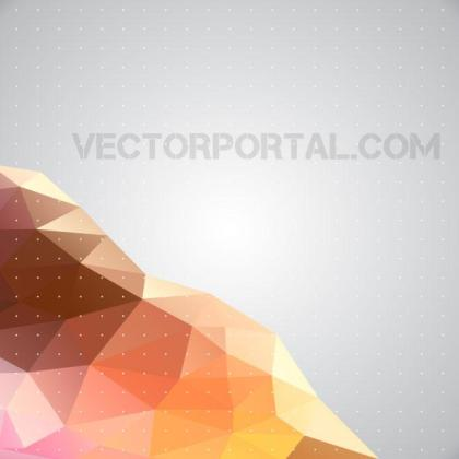 Polygonal Illustration Free Vector