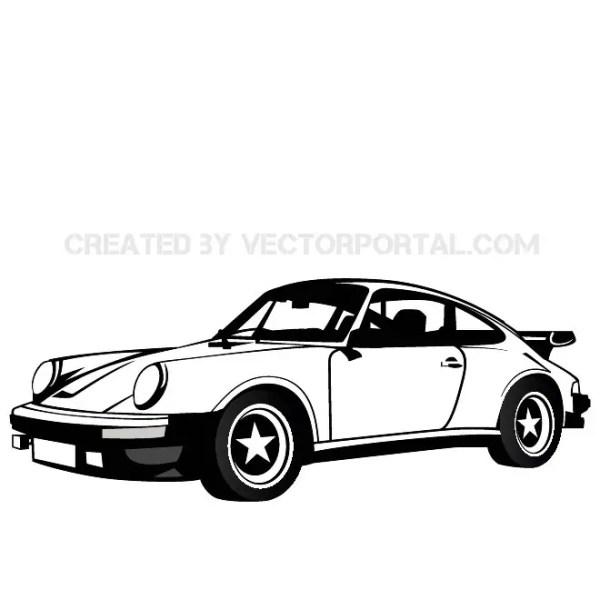 Porsche Automobile Image Free Vector