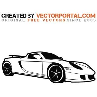 Porsche Car Image Free Vector