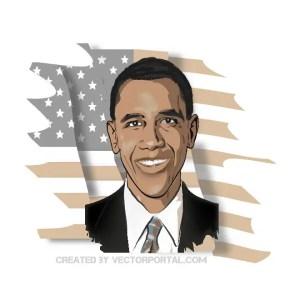 President Obama Free Vector