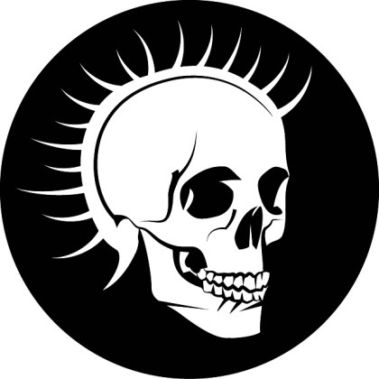 Punk Skull Free Image Free Vector
