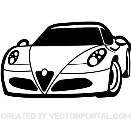 Racing Car Clip Art Free Vector
