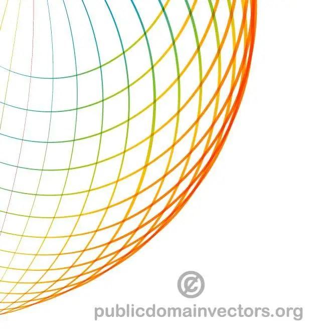 Rainbow Grid Graphics Free Vector