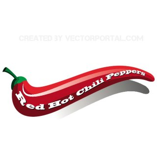 Red Hot Chili Peppers Free Vector