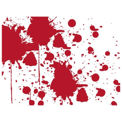 Red Ink Splatter Free Vector