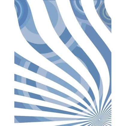 Retro Stripes and Circles Free Vector
