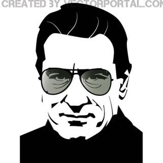Robert De Niro Portrait Free Vector