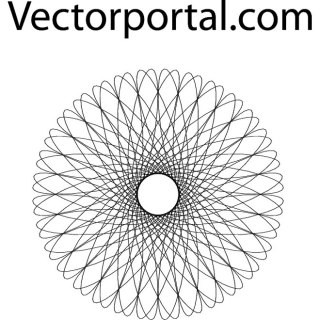 Rosette Image Free Vector