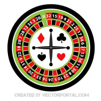 Roulette Wheel Image Free Vector