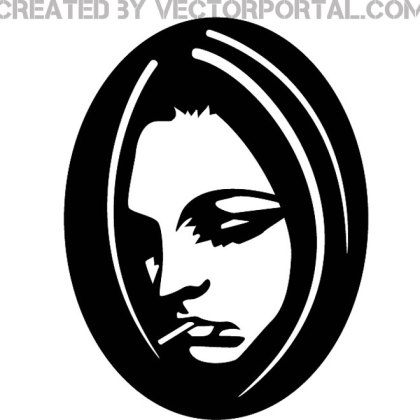 Sad Girl Image Free Vector