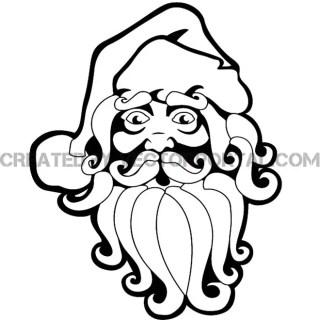 Santa Claus Graphics Free Vector