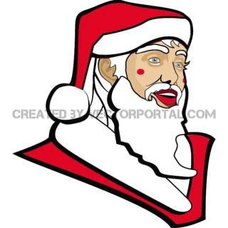 Santa Claus Illustration Vp Free Vector