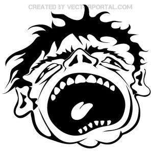 Scream Free Vector