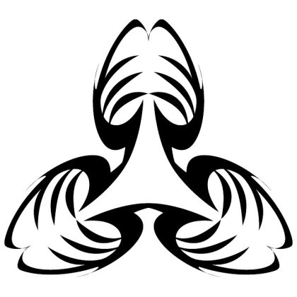Shape Tribal Style Free Vector