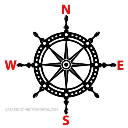 Ship Helm Image Free Vector