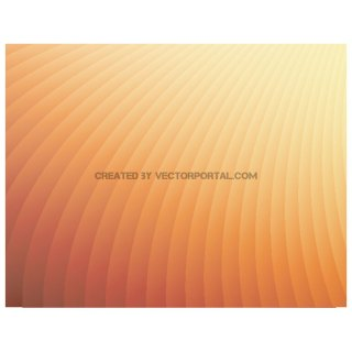Simple Orange Background Free Vector