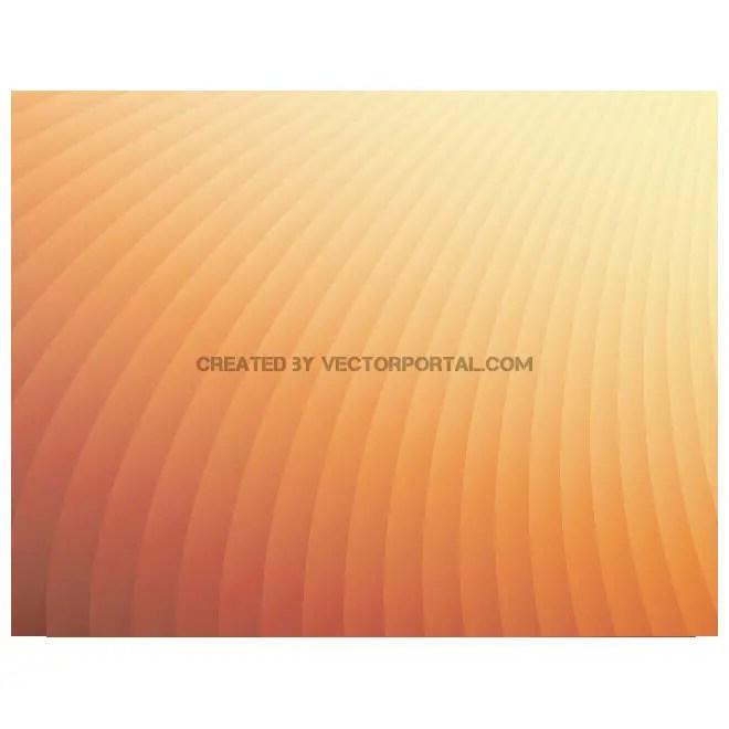 Simple Orange Background Free Vector