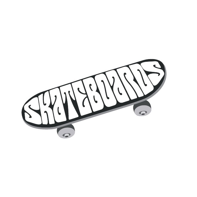 Skateboard Image Free Vector