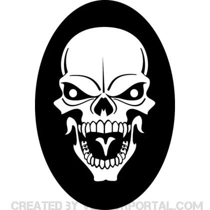 Skull Clip Art 5 Free Vector