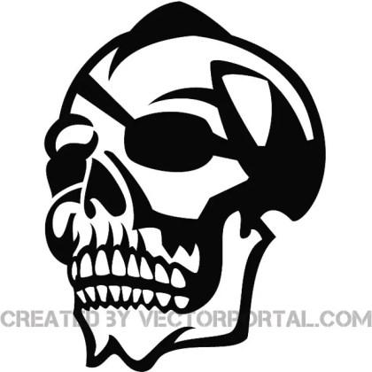 Skull Clip Art Graphics Free Vector