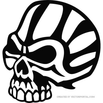 Skull Free Clip Art Free Vector