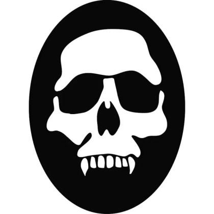Skull of Death Free Vector